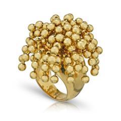 Cartier CARTIER PARIS NOUVELLE VAGUE 18K YELLOW GOLD BEAD RING - 1705095