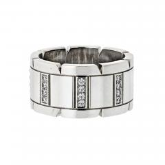 Cartier CARTIER TANK FRANCAISE 18K WHITE GOLD DIAMOND WEDDING BAND - 1798591