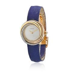 Cartier CARTIER TRINITY 18K ROSE GOLD 2357 LADIES VINTAGE ROUND 27MM DIAMOND DIAL WATCH - 1705097