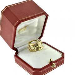 Cartier CARTIER WALKING PANTHERE 18K GOLD RING - 2084836