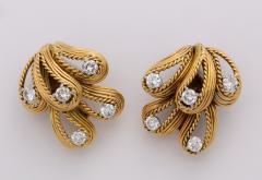 Cartier Cartier Diamond 18k Gold Earrings - 1368239
