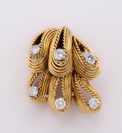 Cartier Cartier Diamond Brooch in 18k Gold - 1367934