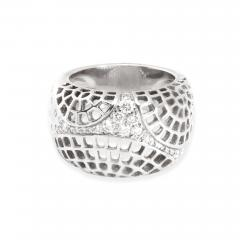 Cartier Cartier Diamond Dome Ring in 18K White Gold 0 45 CTW - 1309354
