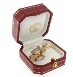 Cartier Cartier Diamond Gold Heart Clover Charm - 1425098