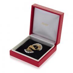 Cartier Cartier Diamond and 18kt Gold Brooch - 1068339