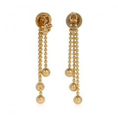 Cartier Cartier Estate Nouvelle Vague Gold Bead and Diamond Earrings with Fringe - 1853999