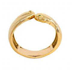 Cartier Cartier Gold Double Birds Head Cuff Bracelet - 589277