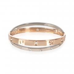 Cartier Cartier Joined Love Bracelet in 18KT Rose Gold White Gold 0 75 CTW - 1841920