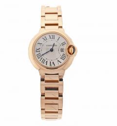 8d2f21d8f17 Cartier Cartier Ladies Ballon Bleu Pink Gold Quartz Wristwatch - 458540