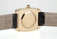Cartier Cartier Large Square Incurvee 18k Gold Wristwatch Circa 1980s - 203517