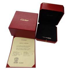 Cartier Cartier Love Bracelet in 18K White Gold Size 19 Unisex - 1287491