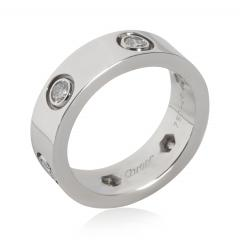 Cartier Cartier Love Diamond Band in 18K White Gold 0 46 CTW - 2058494