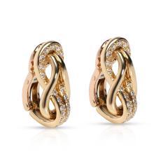 Cartier Cartier Love Knot Diamond Earrings in 18K Yellow Gold 0 42 CTW - 1842099