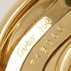 Cartier Cartier Paris Late 20th Century Gold Hoop Earrings - 1170477