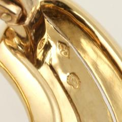 Cartier Cartier Paris Late 20th Century Gold Hoop Earrings - 1170478
