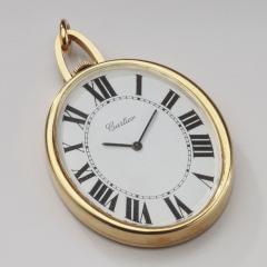 Cartier Cartier Pendant Pocket Watch 18kt large Oval - 1519560