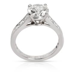 Cartier Cartier Solitaire 1895 Diamond Engagement Ring in Platinum G VS1 2 10 CTW - 1287631
