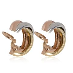 Cartier Cartier Trinity Hoop Earring in 18K 3 Tone Gold - 2058672