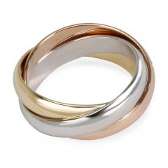 Cartier Cartier Trinity Ring in 18K Yellow White Rose Gold Size 50  - 1260582