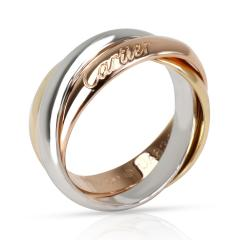 Cartier Cartier Trinity Ring in 18K Yellow White Rose Gold Size 50  - 1260583