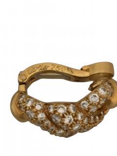 Cartier Cartier Twist Earrings with Diamonds - 301011