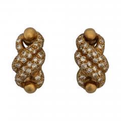 Cartier Cartier Twist Earrings with Diamonds - 301070