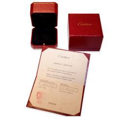 Cartier Cartier Vintage Ballerine Diamond Band in 18K White Gold 3 4mm 0 52 CTW  - 1284438