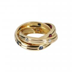 Cartier Cartier Vintage Russian Trinity Diamond Ring in 18K Yellow Gold 0 15 CTW - 2147182