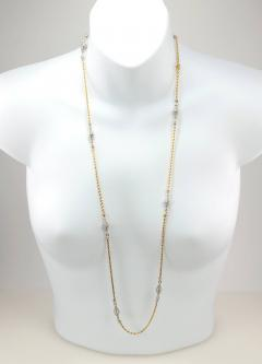 Cartier Cartier Yellow and White Gold Chain Necklace - 181570