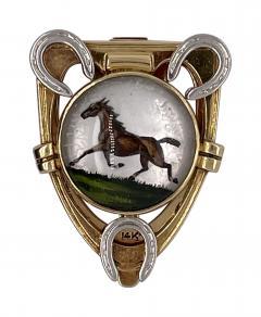 Cartier Cartier reverse painted crystal clip - 1913865