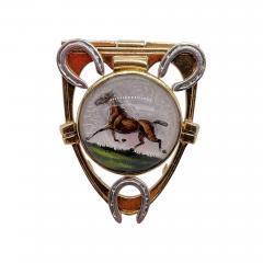 Cartier Cartier reverse painted crystal clip - 1914544
