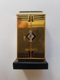 Cartier GOLD ART DECO ALTAR OR TRYPTIQUE TABLE CLOCK CARTIER 1930 - 2051918
