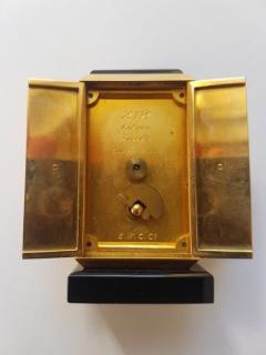 Cartier GOLD ART DECO ALTAR OR TRYPTIQUE TABLE CLOCK CARTIER 1930 - 2051924