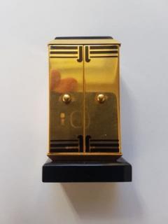 Cartier GOLD ART DECO ALTAR OR TRYPTIQUE TABLE CLOCK CARTIER 1930 - 2051925