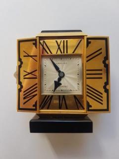 Cartier GOLD ART DECO ALTAR OR TRYPTIQUE TABLE CLOCK CARTIER 1930 - 2051926
