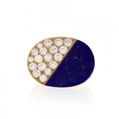 Cartier Gold Ring with Diamonds and Lapis Lazuli by Cartier - 1227747