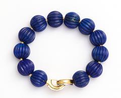 Cartier Lapis Bead Bracelet by Cartier Paris - 258846