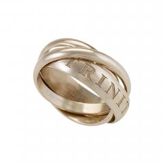 Cartier Or Amour Et Trinity Ring - 1093573