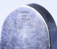 Cartier Rare 1900 1910 Cartier Enamel Forget Me Knot Motif Dome Clock - 1107734