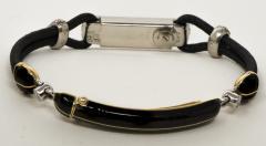 Cartier Rare 1920s Cartier Art Deco Platinum Pave Diamond Set Enamel Cord Cocktail Watch - 431645