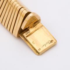 Cartier Retro Cartier Gold Gaspipe Bracelet - 716631