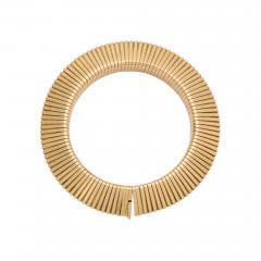 Cartier Retro Cartier Gold Gaspipe Bracelet - 718967