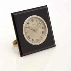 Cartier SQUARE ONYX DESK CLOCK - 2051922