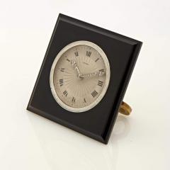 Cartier SQUARE ONYX DESK CLOCK - 2051923