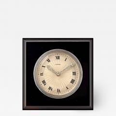 Cartier SQUARE ONYX DESK CLOCK - 2052014