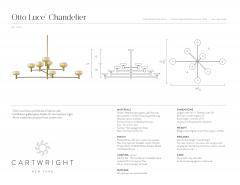 Cartwright New York Otto Luce Chandelier - 973436