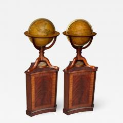 Cary s A Pair of George III 12 inch Terrestrial and Celestial Table Globes by Carys - 1012490