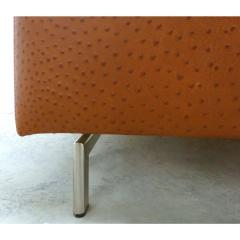 Casa Tonino Lamborghini Lamborghini Pilot Collection Sofa in Leather Ostrich Suede - 1058608