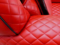 Casa Tonino Lamborghini Tonino Lamborghini Carbon Imola Leather Armchair by Formitalia - 1142433