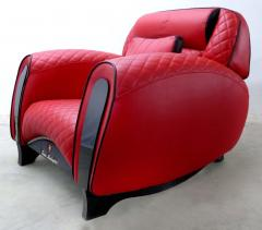 Casa Tonino Lamborghini Tonino Lamborghini Carbon Imola Leather Armchair by Formitalia - 1142436